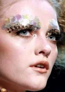 Pat McGrath sequins eye look