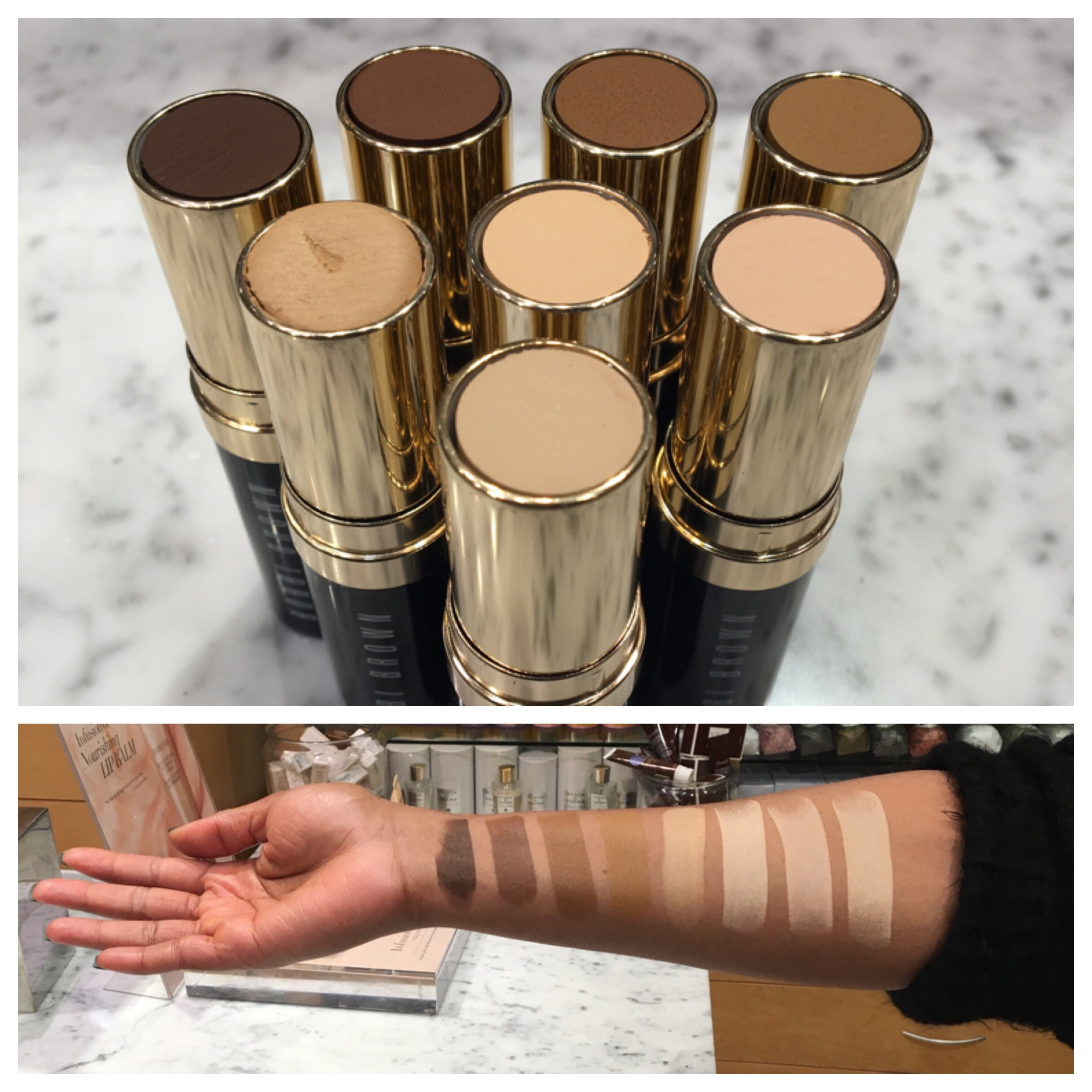 The Cooler Side Of Brown Bobbi Brown Stick Foundation Shade