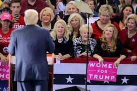 white-women-trump